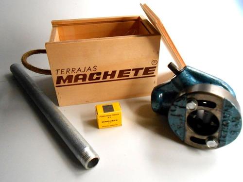terraja machete n°5 regulable (1/2' a 1'') bspt  c/crique
