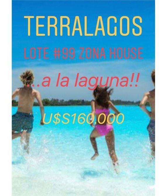 terralagos .. lote #99 a la laguna - zona house!!