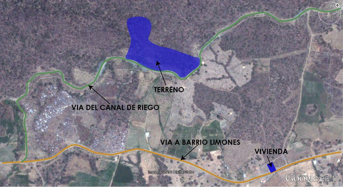 terrano y casa - canton zapotillo - parroquia limones