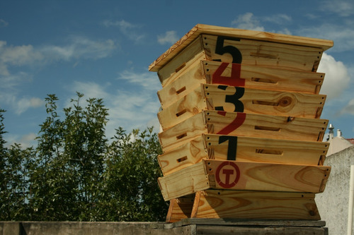 terranova compostera 3-4 personas 80 litros - 5 modulos