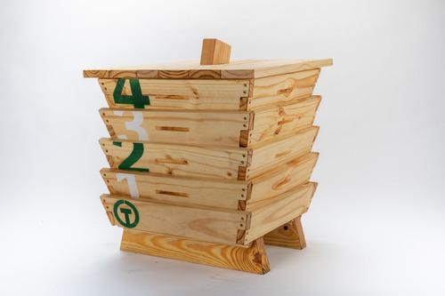 terranova compostera 64 litros  2-3 personas - 4 modulos