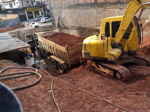terraplenagens, demolições, pavimentação, construção.