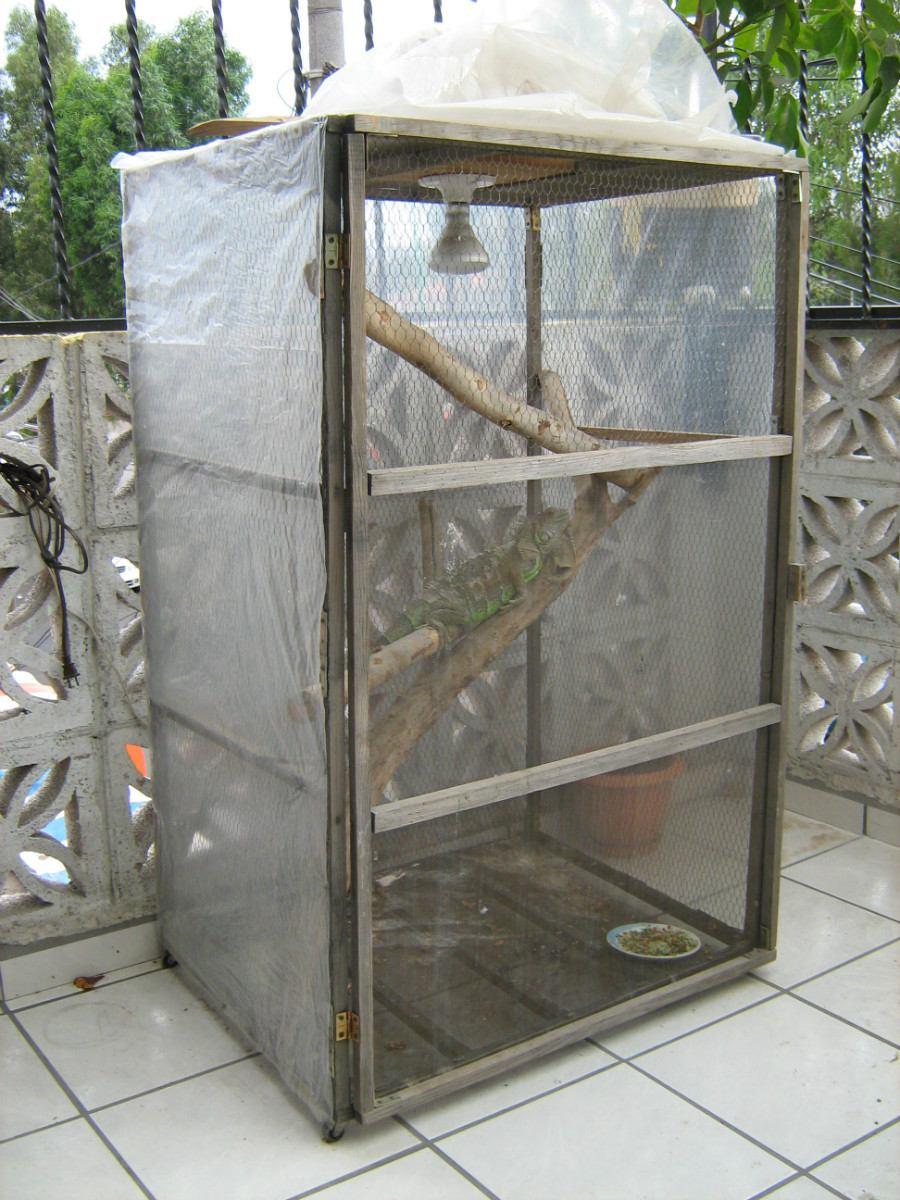 Terrarios de malla para tus reptiles 90x60x60 cm 800 - Como construir un terrario ...