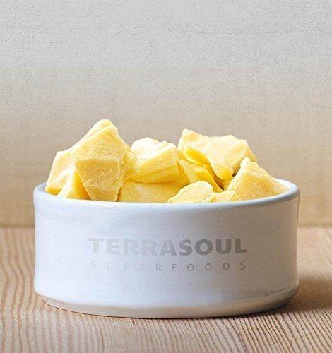 terrasoul superfoods manteca cacao organica, 2 lbs cruda | c