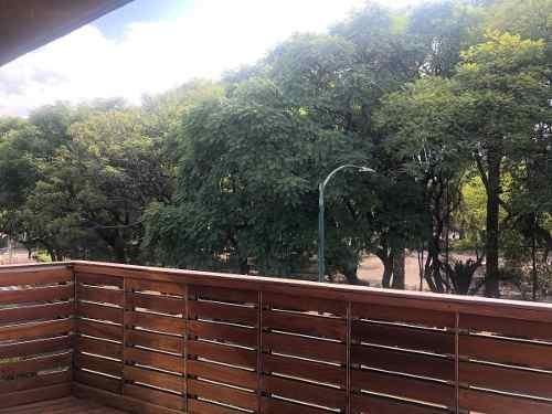 terraza caminando parque lincoln