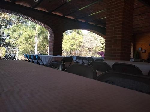 terraza con alberca en renta