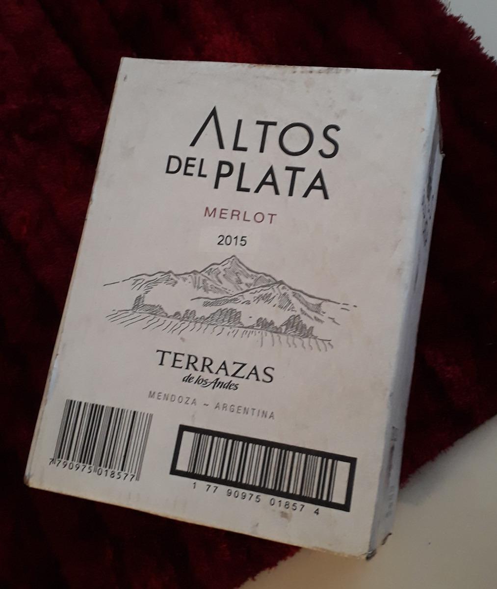 Terrazas De Los Andes Altos Del Plata Merlost 2015