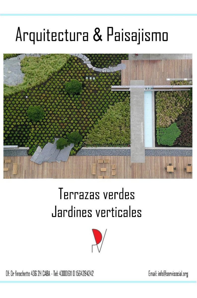 Terrazas Verdes Y Jardines Verticales
