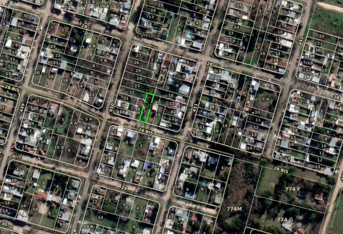 terreno 10 x 40 -todos los servicios - city bell