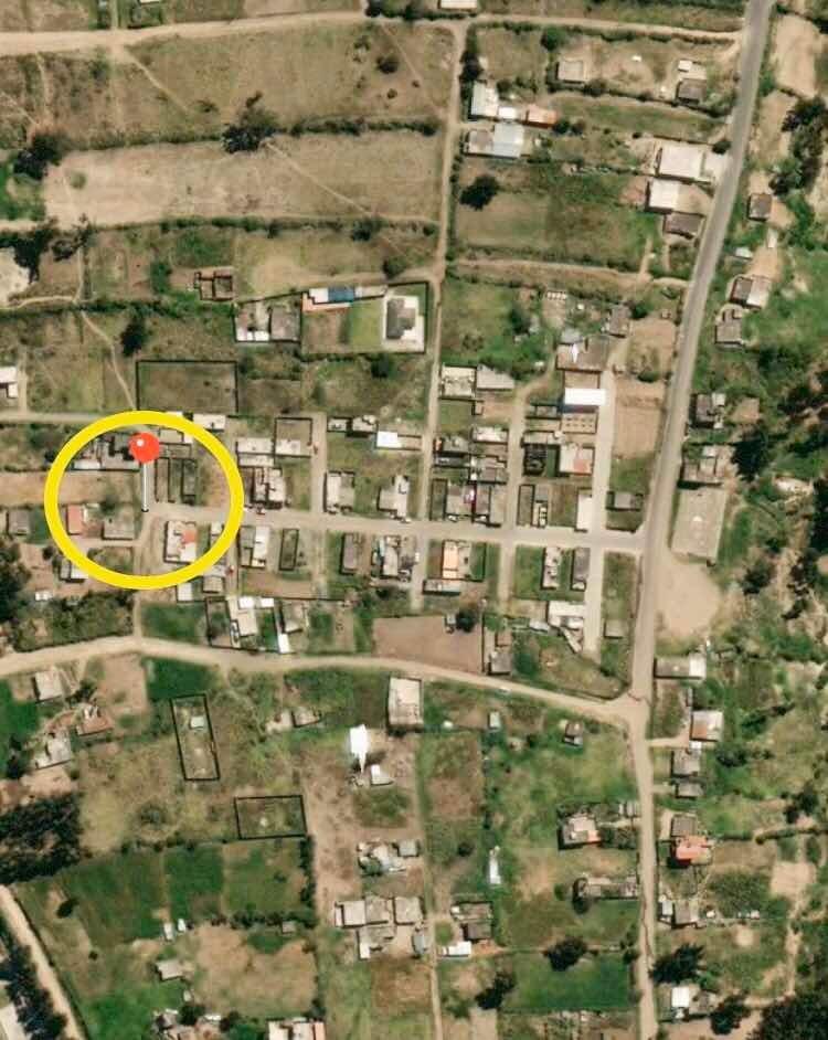 terreno 100 mt. tiobamba / vista hermosa