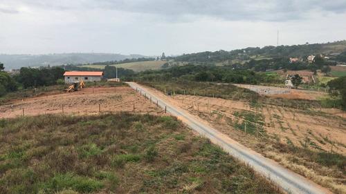 terreno 1.000 m2 pronto para construir só 300 mts do asfalto