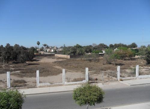 terreno 10,000 m2 lateral salida norte a los mochis, esquina