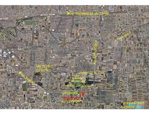 terreno 10,000 m2 por parque bicentenario