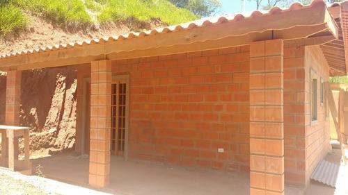 terreno 1.000m² + obra  50 m² 2 dorms nova  mairinque - sp