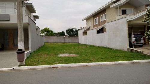terreno 10m x 25m  em condomínio fechado