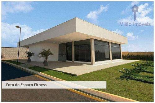 terreno 1122m² à venda, pronto para construir, residencial saint patrick em sorocaba/sp - te0156