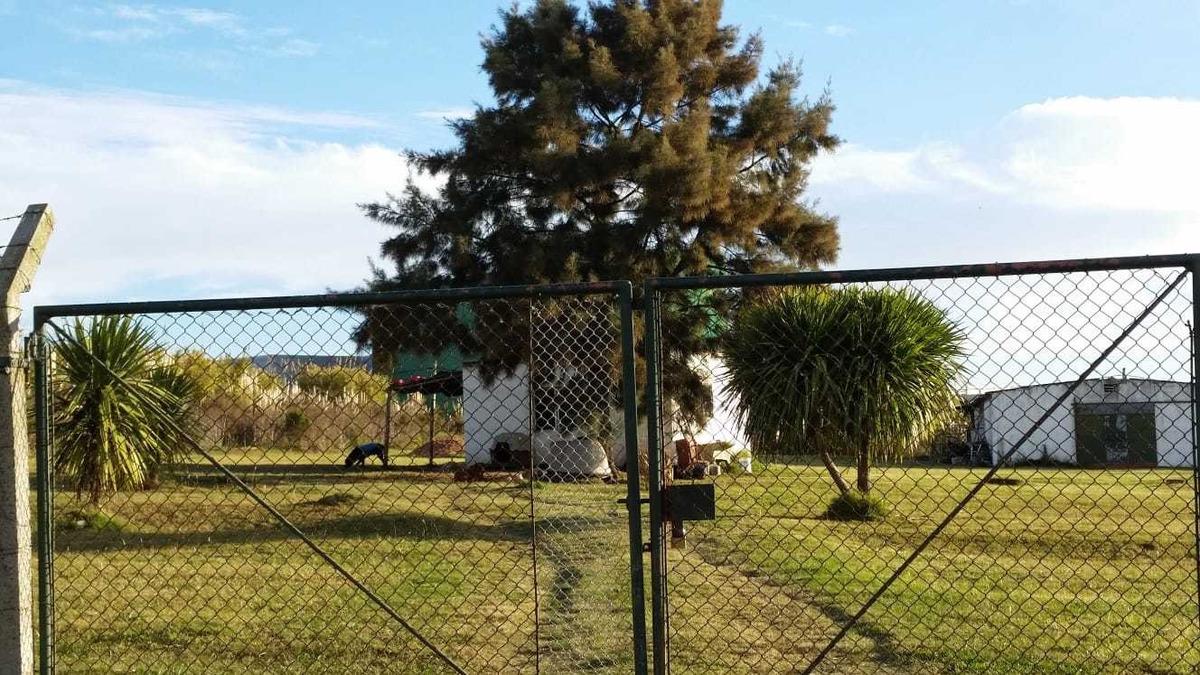 terreno 1/2 hectarea c/galpon y casa ruta 101 y102 bien ubic