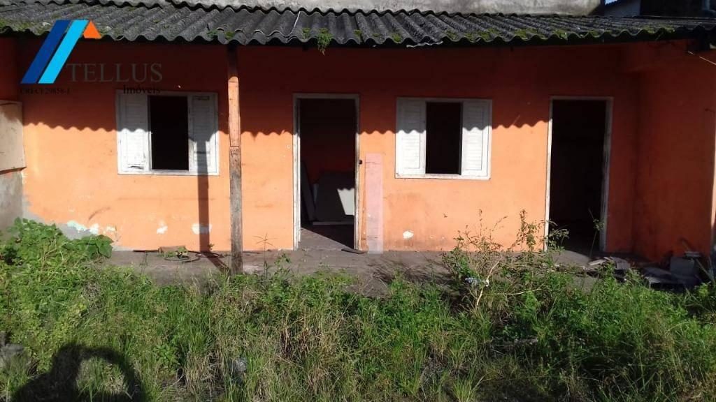 terreno 12 x 35 - locação - vila margarida - são vicente - te0012