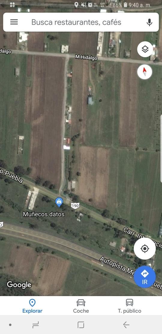 terreno 120 mts san matias tlalancaleca