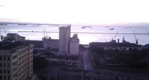 terreno 127 mts2 18x 7 bairro sto antonio vista para o mar