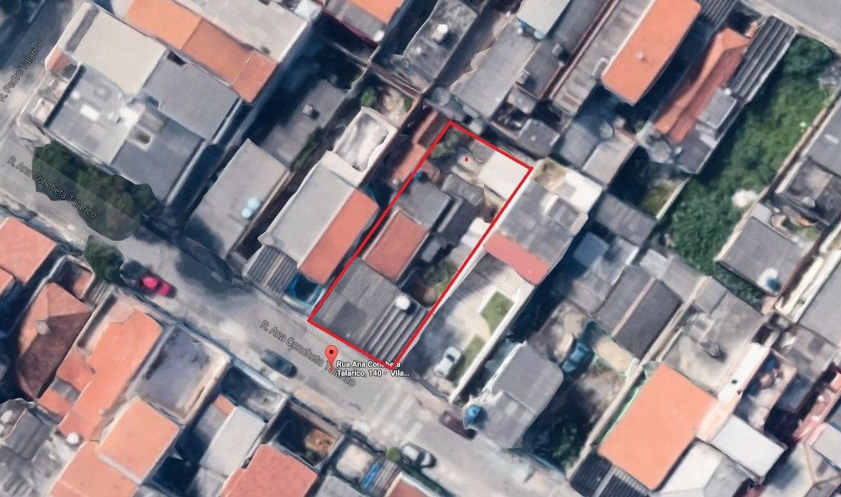 terreno 12m x 30m  na vila talarico
