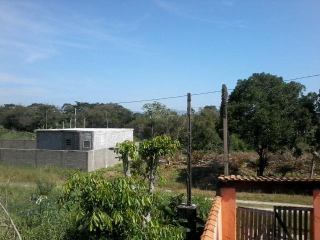 terreno 12x26 - 312m² no luizamar mirim em itanhaém