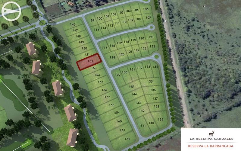 terreno 1320 m2 en venta en sofitel la reserva cardales