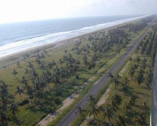 terreno 15,000 metros playa caimanero mazatlan sinaloa