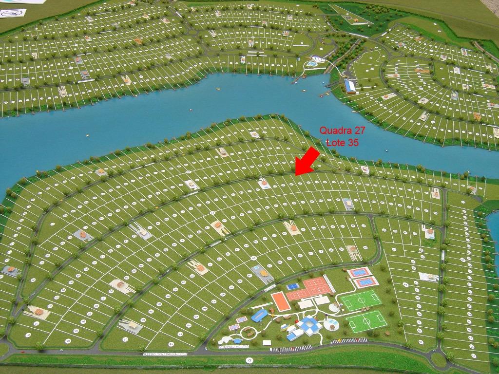 terreno 1500m² no cond ecovillas do lago