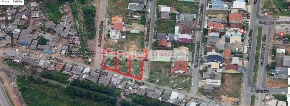 terreno, 175 m², harmonia - 151567