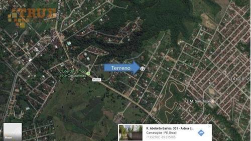terreno 2000 m² aldeia - te0052
