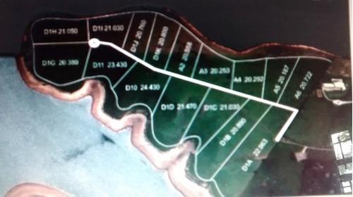 terreno 20.000 m² na represa - pé na água  /  tr-096