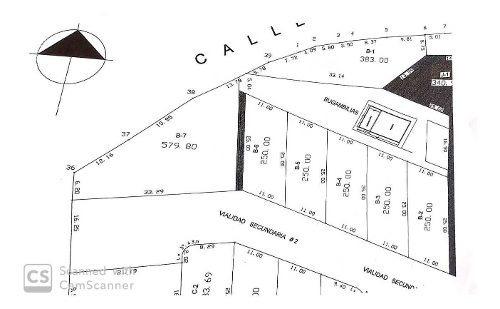 terreno 250 m2 en venta en fracc cerrado con seguridad
