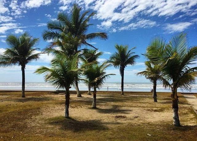 terreno 250 metro na praia peruíbe! entrada facilitada 7.230