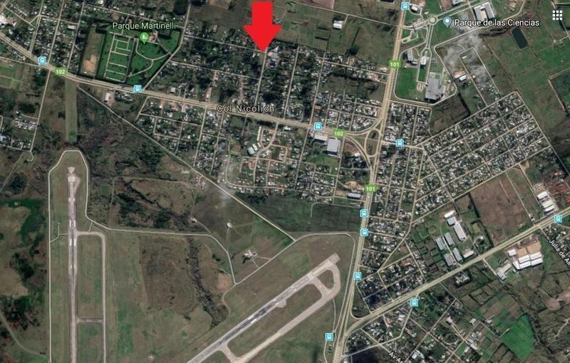 terreno 2550 m2, limpio y nivelado, próximo aeropuerto!