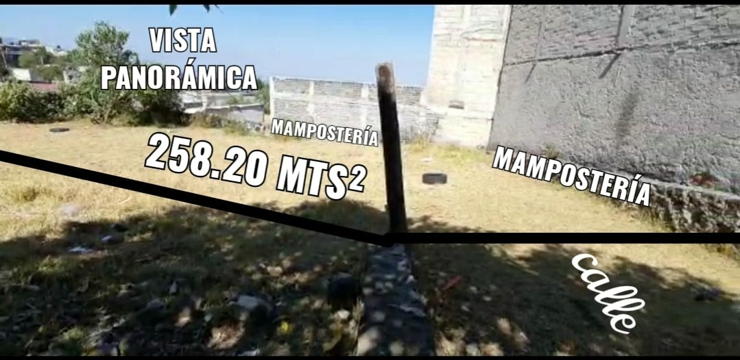 terreno 258 mts²