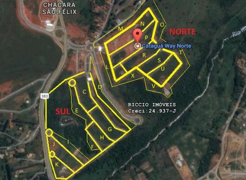 terreno 275 m² cataguá way taubaté - . - te0660
