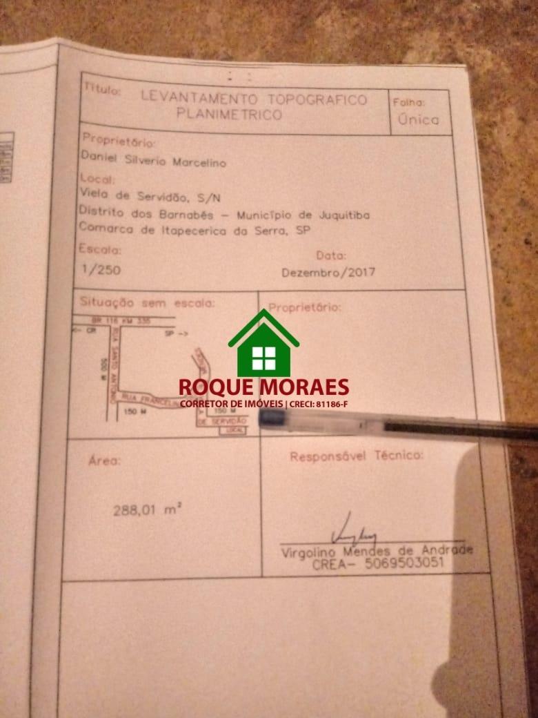 terreno - 288 m²  r$ 25.000  ref 0159