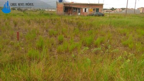 terreno 295,12m² em peruíbe 74 mil  - 3316