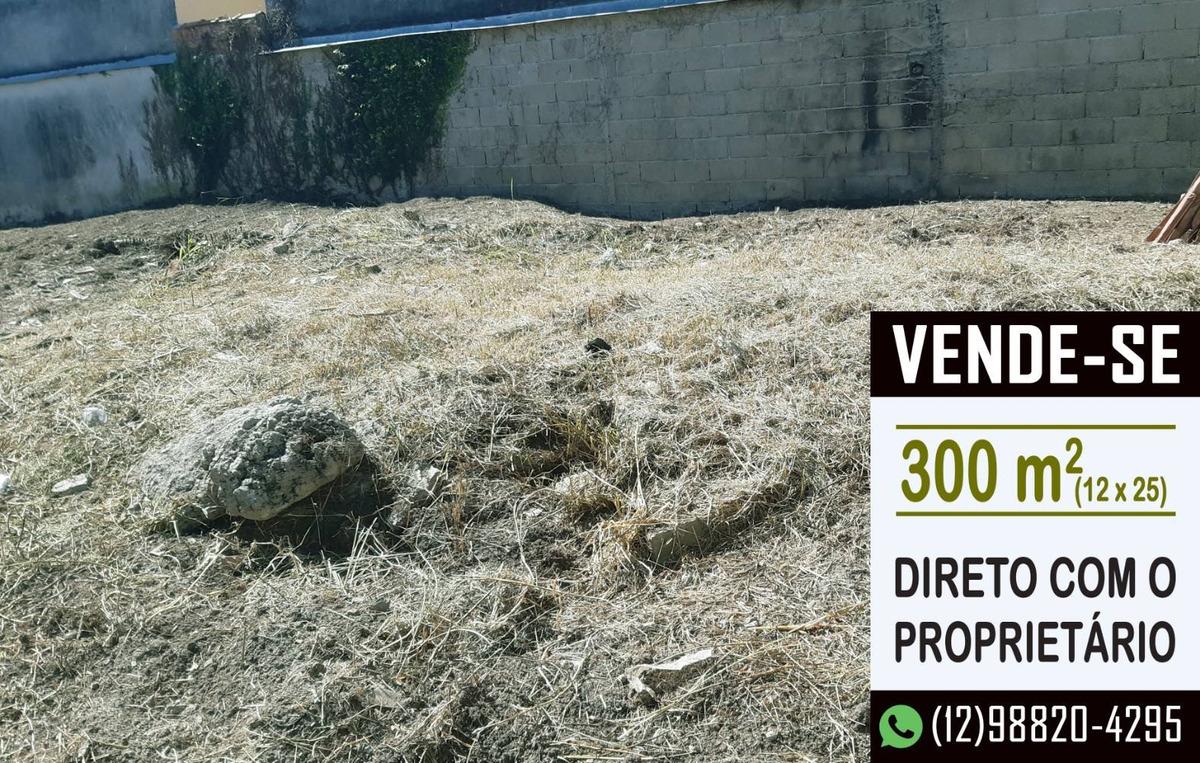 terreno 300 m2 - sta maria jacareí