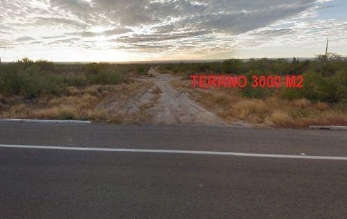 terreno 3000 m2 orilla carretera la paz