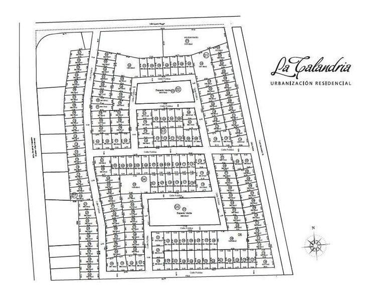 terreno 360 apto duplex en venta - la calandria