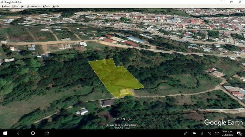 terreno 3750 m2 con casa en huauchinango, puebla