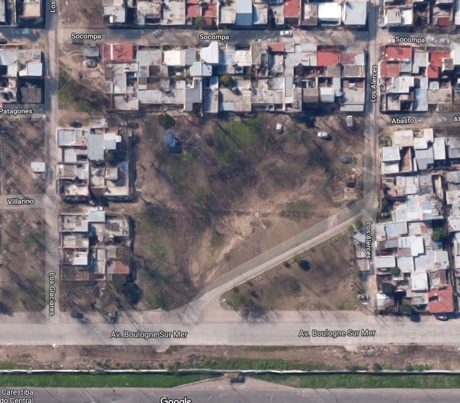 terreno 406 m² con frente a 3 calles - proyecto aprobado 6 locales - villa celina