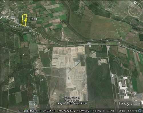 terreno 4.4 hectareas la arena pesqueria nuevo leon