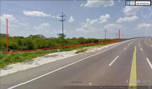 terreno 4.43 ha carretera merida-progreso