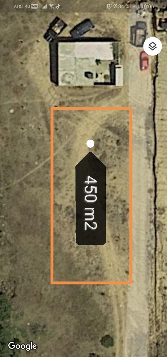 terreno 450 m2