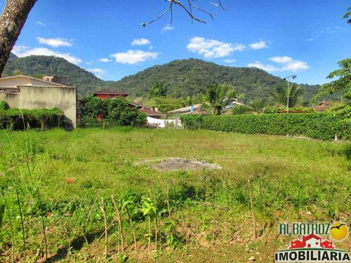 terreno 450m², ubatuba country, horto florestal - tr088