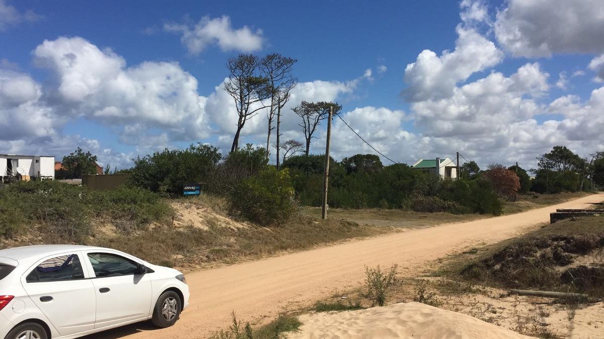 terreno 450m2 la juanita, josé ignacio. 200 m de la playa.