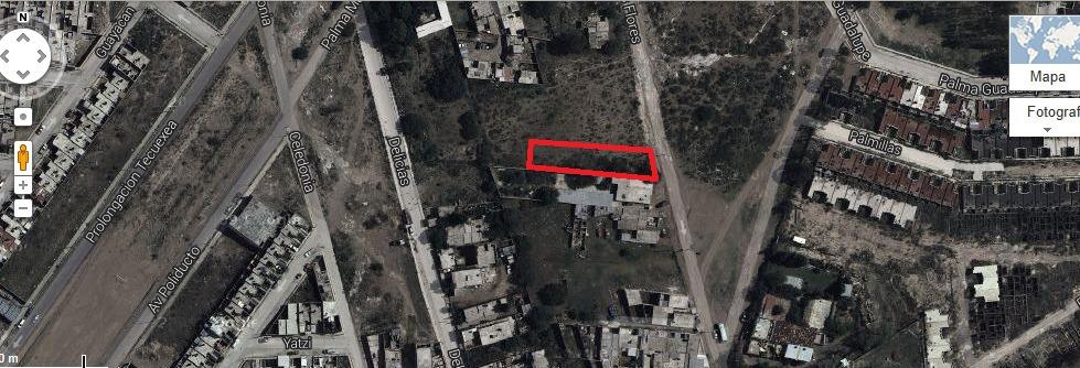 terreno 518 m2 lomas del gachupin (terreno en venta en aguascalientes)